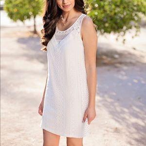 Cute & Simple White Dress